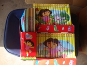 Dora the Explorer DVD and Comic collection