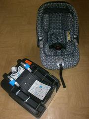 MAMAS & PAPAS PRIMO VIAGGIO IP NEWBORN CAR SEAT & PRIMO VIAGGIO SUREFI