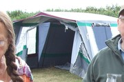 Large Frame Tent sleeps approx 6