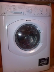 Hotpoint WDL520P WH washer dryer - Polar White