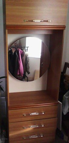 Cupboard With Mirror For Sale In Hereford Cupboard With