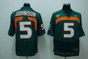 SELL NCAA 5 Johnson Green NFL Jersey