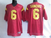 SELL NCAA 6 Sanchez Red NFL Jerseys