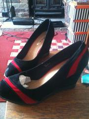Size 8 (41) wedges,  never worn.